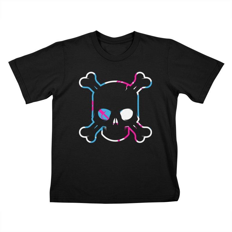 Head_Rush_06 Kids T-Shirt by Yargyle's Artist Shop
