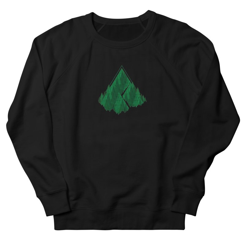 GeomeTree Men's French Terry Sweatshirt by Yargyle's Artist Shop