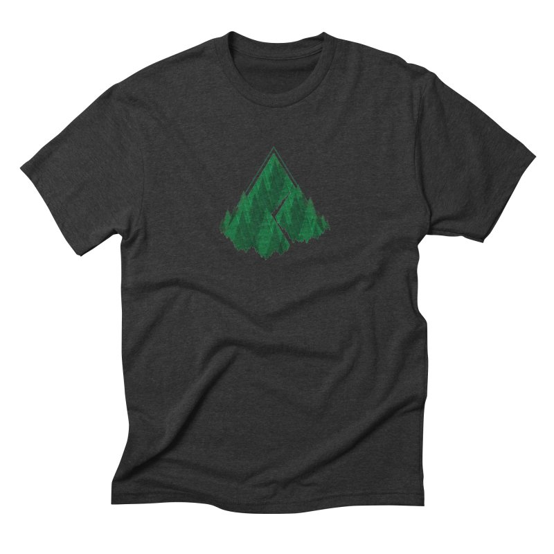 GeomeTree Men's Triblend T-Shirt by Yargyle's Artist Shop