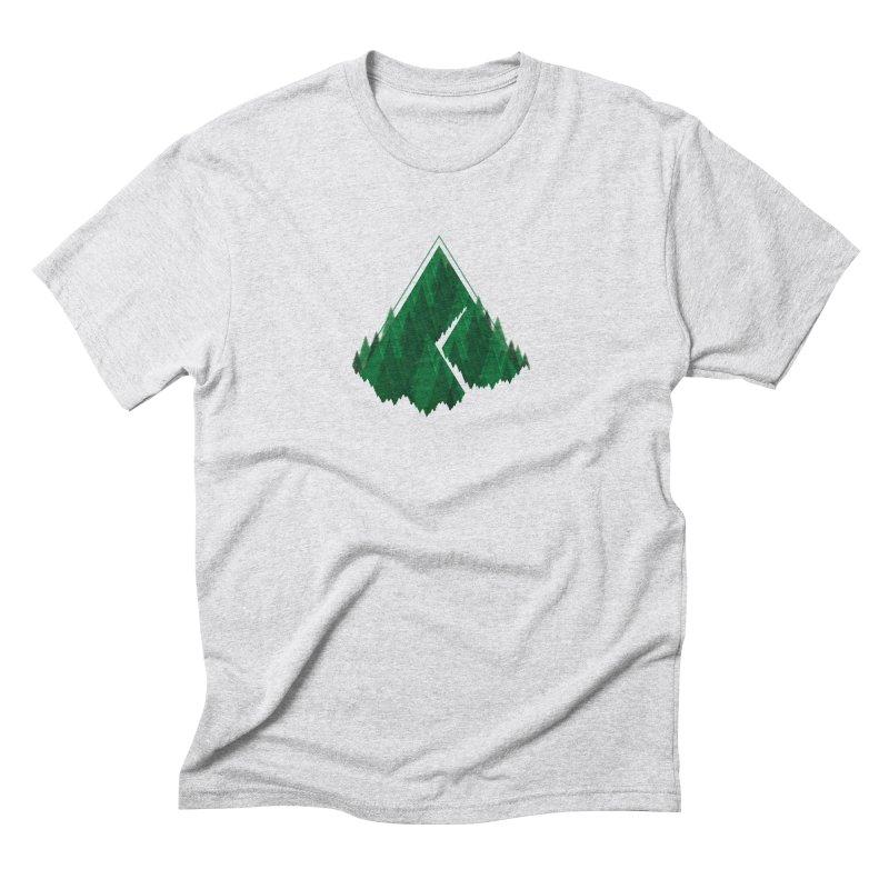 GeomeTree Men's Triblend T-Shirt by Yargyle's Artist Shop