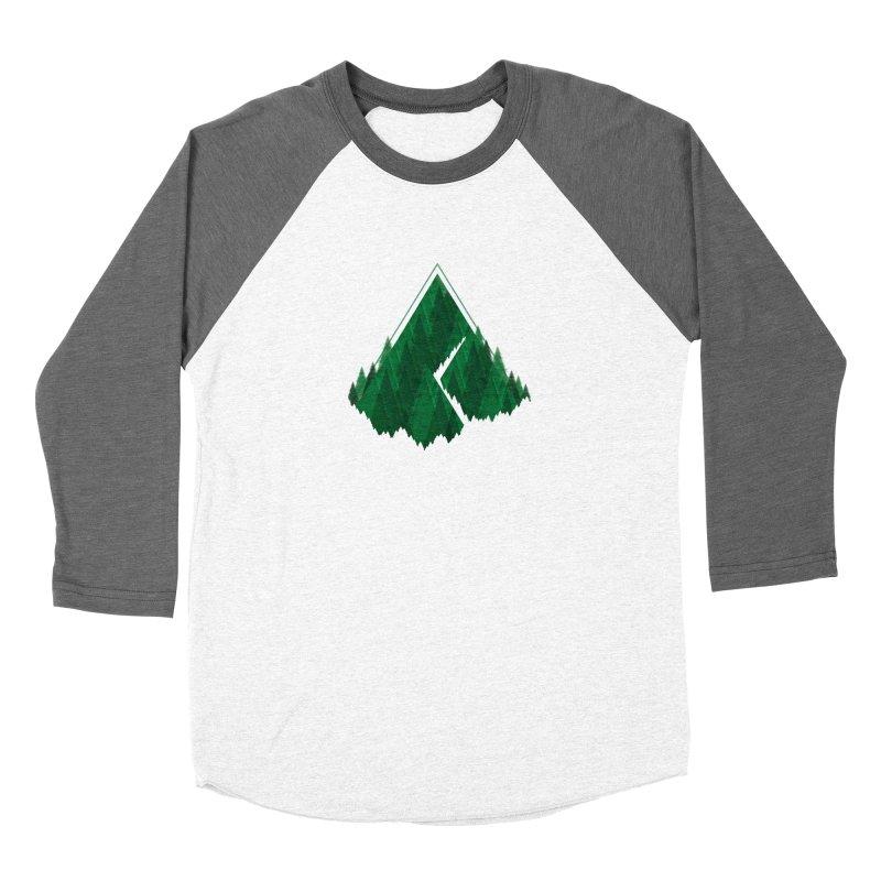GeomeTree Women's Baseball Triblend Longsleeve T-Shirt by Yargyle's Artist Shop