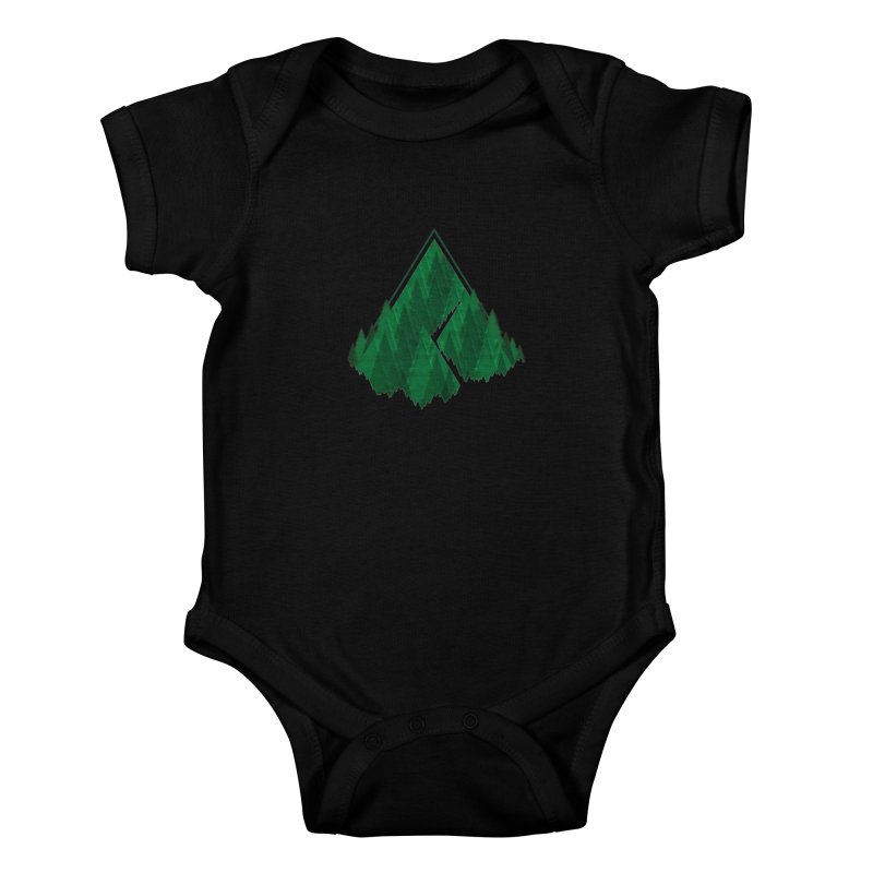 GeomeTree Kids Baby Bodysuit by Yargyle's Artist Shop