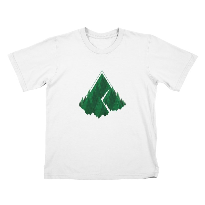 GeomeTree Kids T-Shirt by Yargyle's Artist Shop