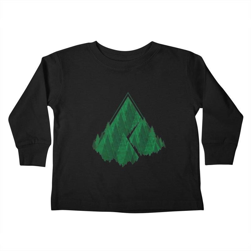 GeomeTree Kids Toddler Longsleeve T-Shirt by Yargyle's Artist Shop