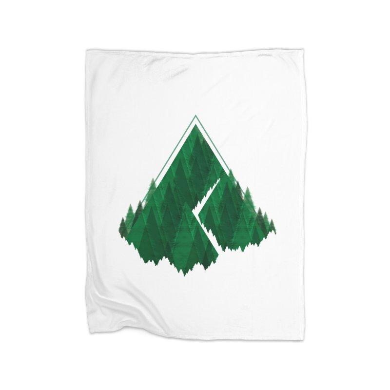 GeomeTree Home Blanket by Yargyle's Artist Shop