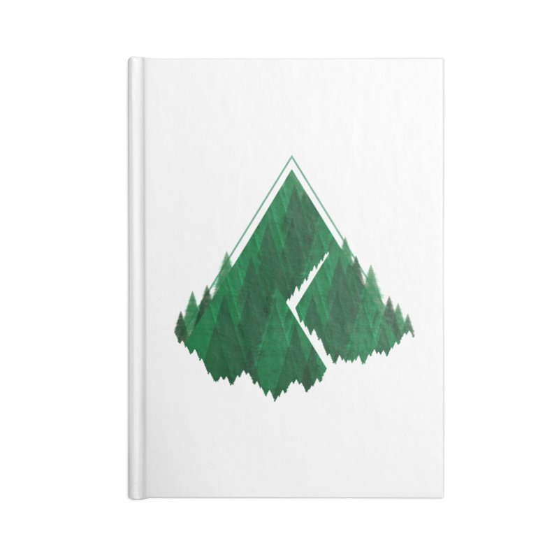 GeomeTree Accessories Lined Journal Notebook by Yargyle's Artist Shop