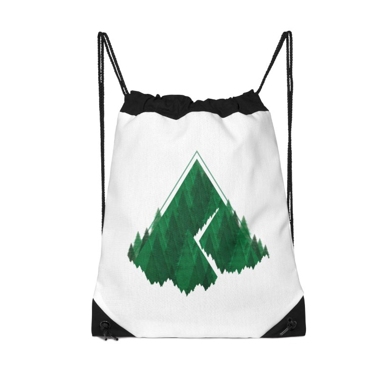 GeomeTree Accessories Drawstring Bag Bag by Yargyle's Artist Shop