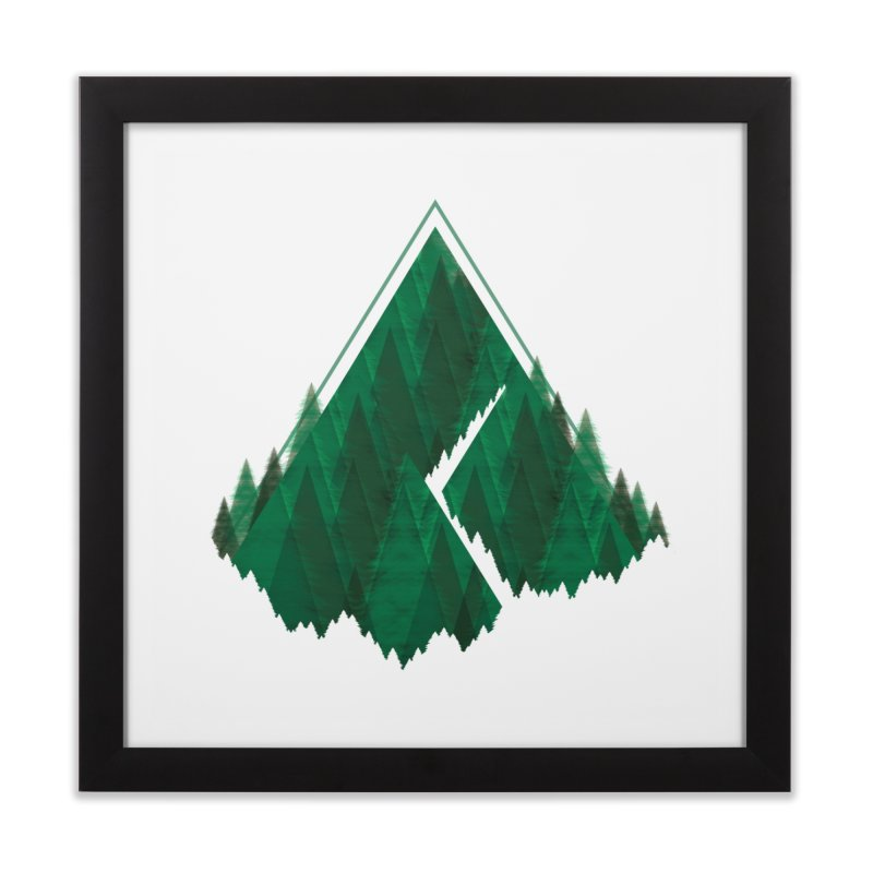 GeomeTree Home Framed Fine Art Print by Yargyle's Artist Shop