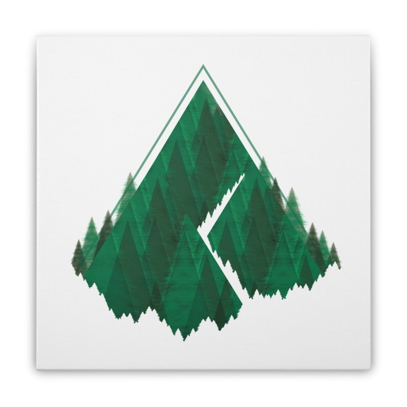 GeomeTree Home Stretched Canvas by Yargyle's Artist Shop