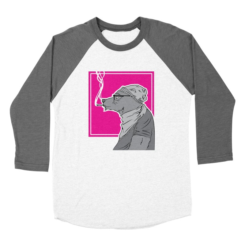 Smokey the Bear Women's Baseball Triblend T-Shirt by Yargyle's Artist Shop