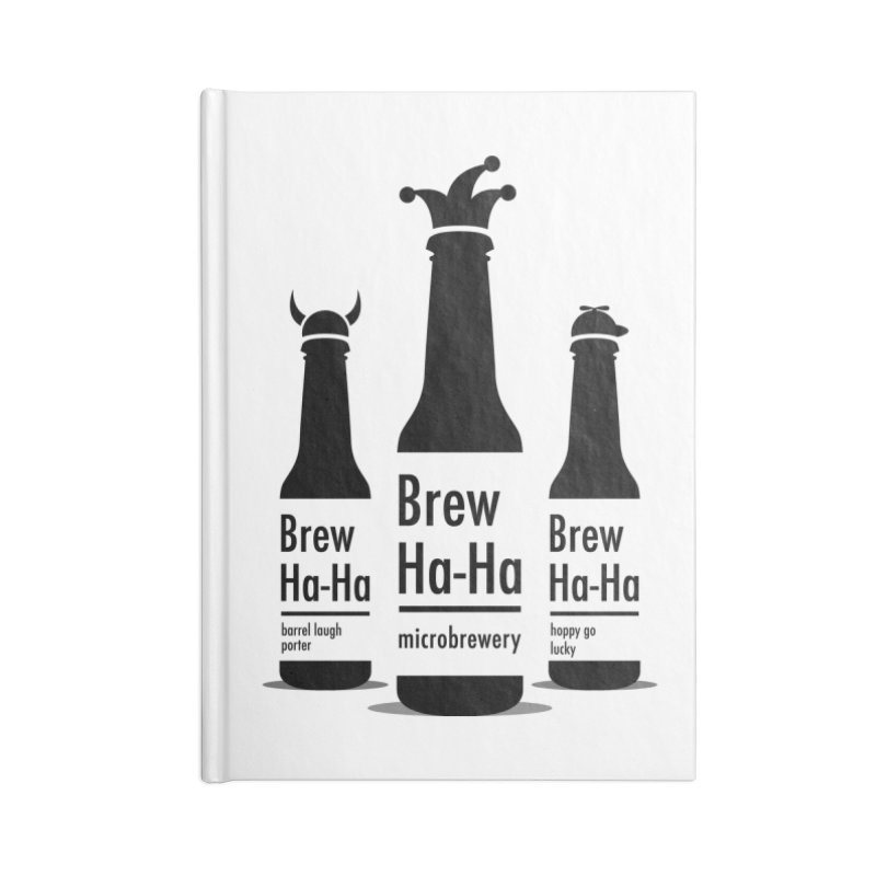 Brew Ha-Ha Accessories Notebook by Yargyle's Artist Shop
