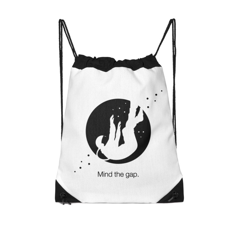 Mind the Gap Accessories Bag by Yargyle's Artist Shop