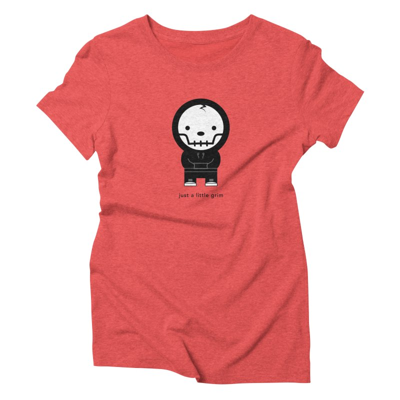 Little Grim Women's Triblend T-Shirt by Yargyle's Artist Shop