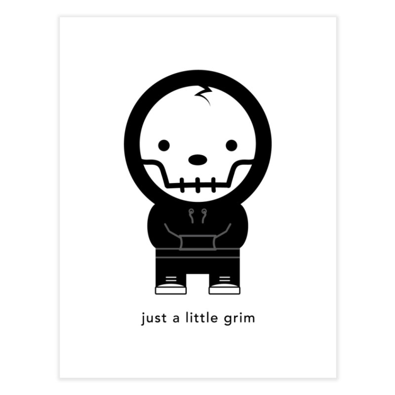 Little Grim Home Fine Art Print by Yargyle's Artist Shop