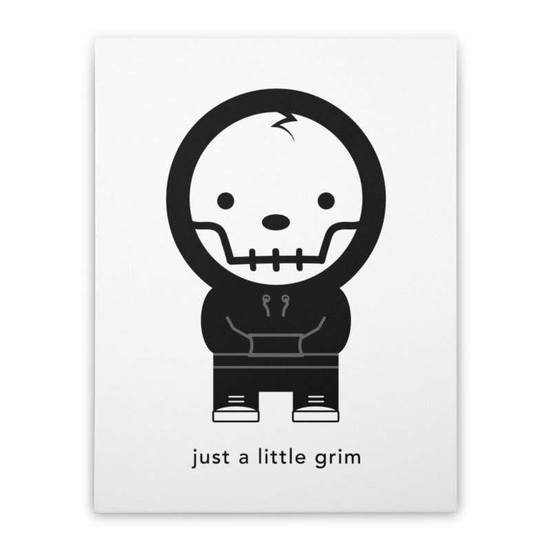 Little Grim Home Stretched Canvas by Yargyle's Artist Shop