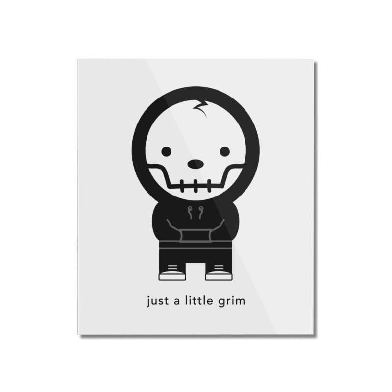 Little Grim Home Mounted Acrylic Print by Yargyle's Artist Shop