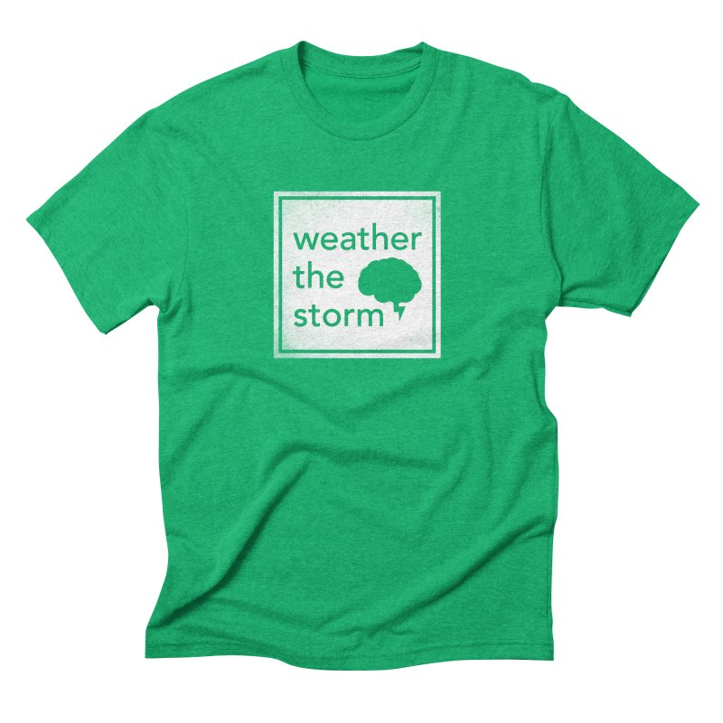 Weather the Storm Men's Triblend T-Shirt by Yargyle's Artist Shop