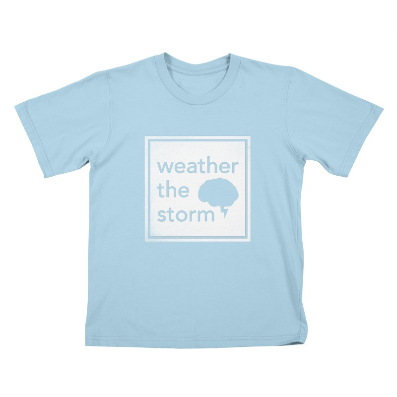 Weather the Storm Kids T-Shirt by Yargyle's Artist Shop