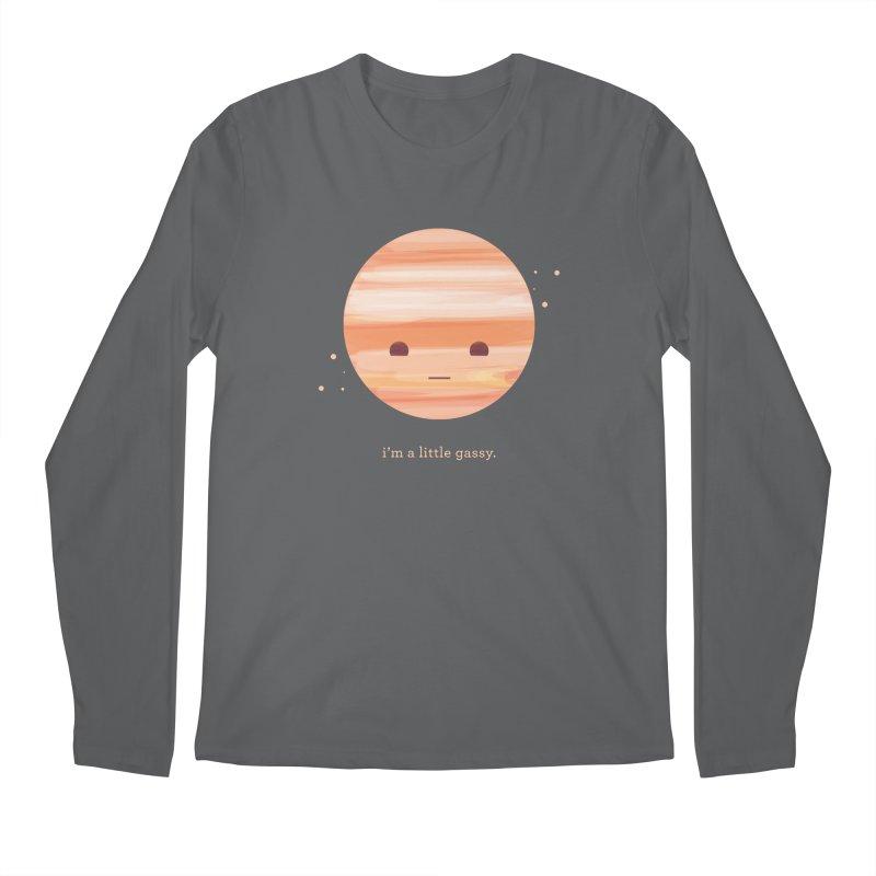 Little Gassy Men's Longsleeve T-Shirt by Yargyle's Artist Shop