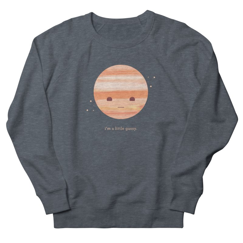 Little Gassy Men's French Terry Sweatshirt by Yargyle's Artist Shop