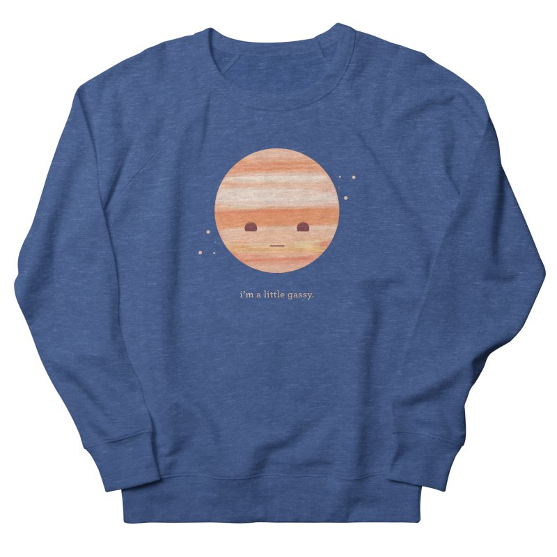 Little Gassy Men's French Terry Sweatshirt by Yargyle's Artist Shop