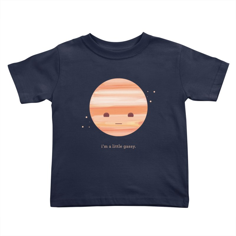 Little Gassy Kids Toddler T-Shirt by Yargyle's Artist Shop
