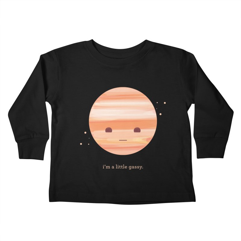 Little Gassy Kids Toddler Longsleeve T-Shirt by Yargyle's Artist Shop