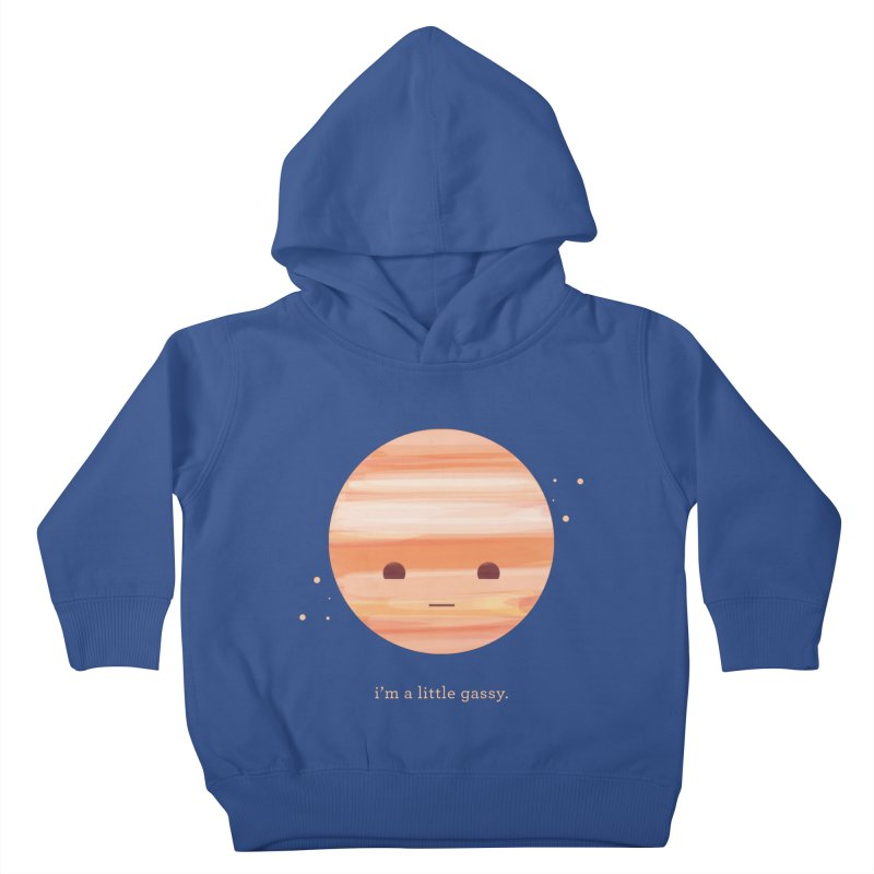 Little Gassy Kids Toddler Pullover Hoody by Yargyle's Artist Shop