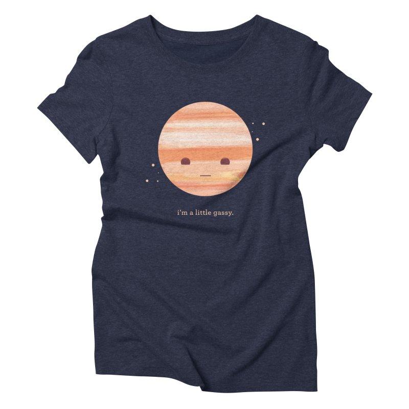 Little Gassy Women's Triblend T-Shirt by Yargyle's Artist Shop