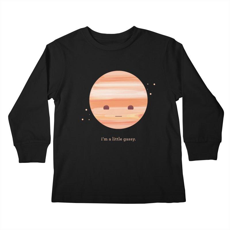 Little Gassy Kids Longsleeve T-Shirt by Yargyle's Artist Shop