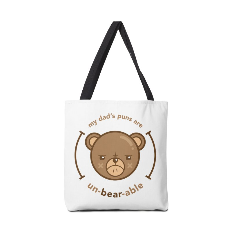 Un-Bear-Able Accessories Bag by Yargyle's Artist Shop