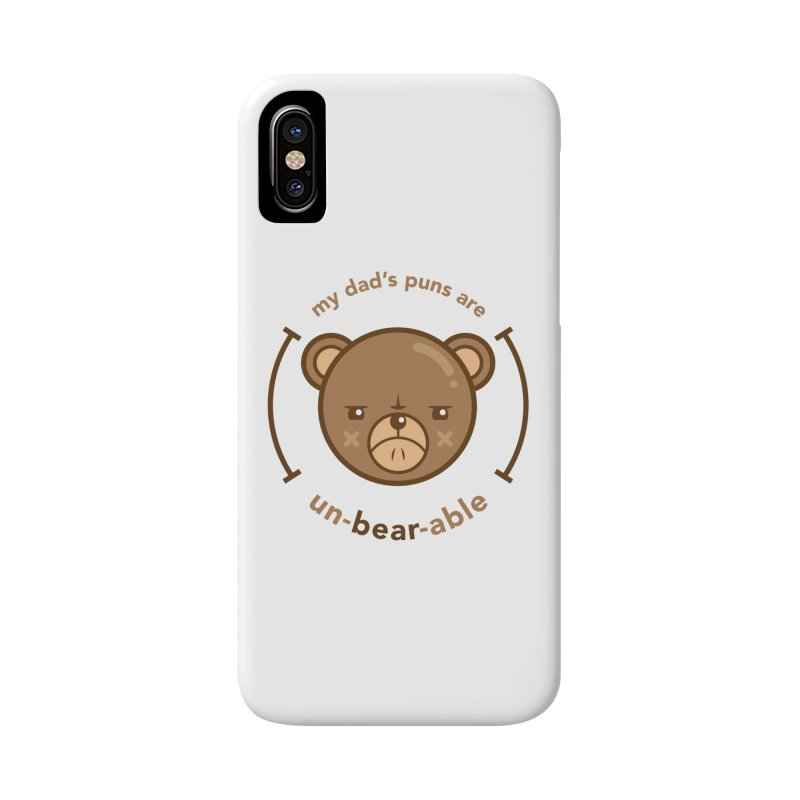 Un-Bear-Able Accessories Phone Case by Yargyle's Artist Shop