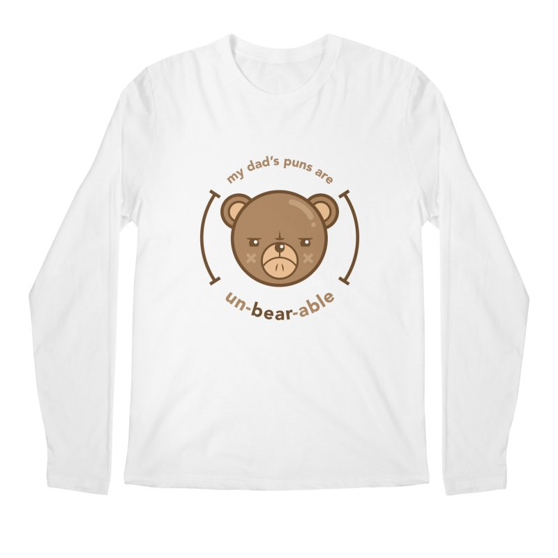 Un-Bear-Able Men's Longsleeve T-Shirt by Yargyle's Artist Shop