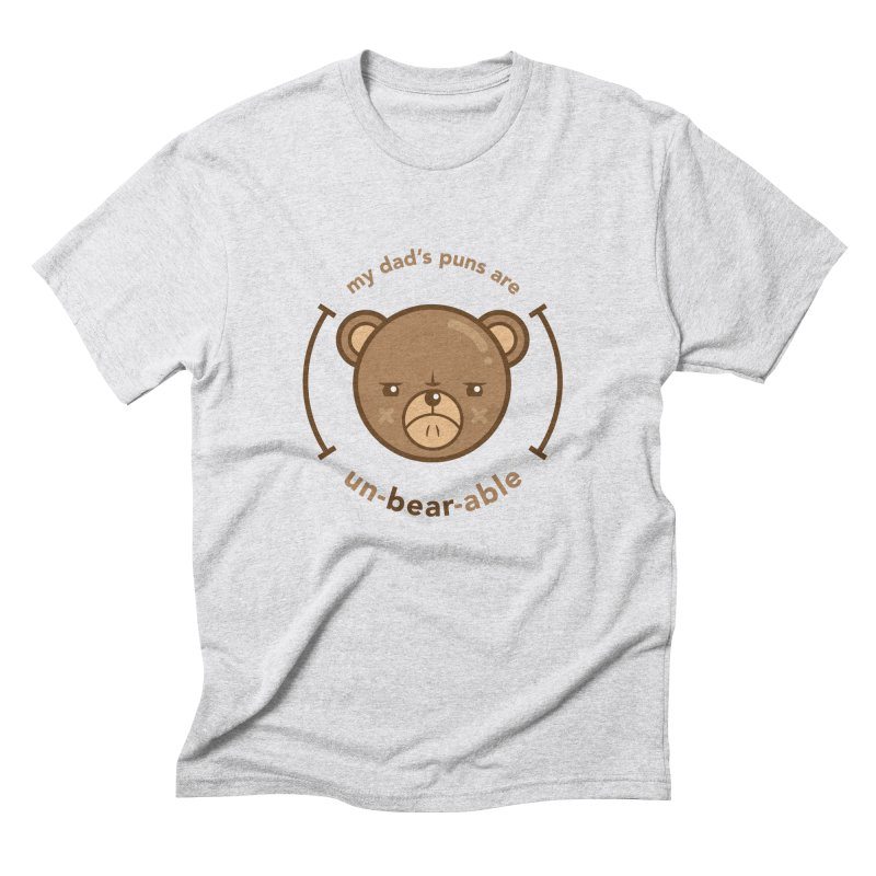 Un-Bear-Able Men's Triblend T-Shirt by Yargyle's Artist Shop