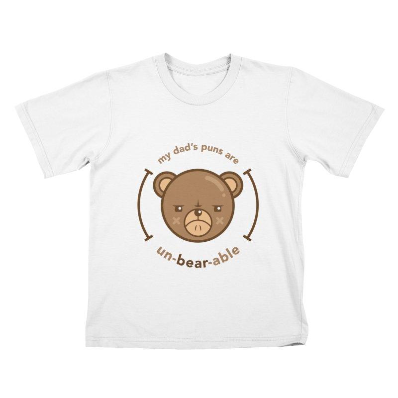 Un-Bear-Able Kids T-Shirt by Yargyle's Artist Shop