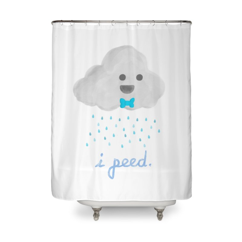 Uh Oh Home Shower Curtain by Yargyle's Artist Shop