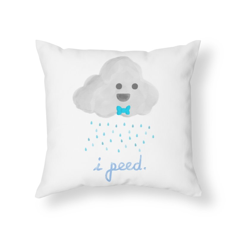 Uh Oh Home Throw Pillow by Yargyle's Artist Shop