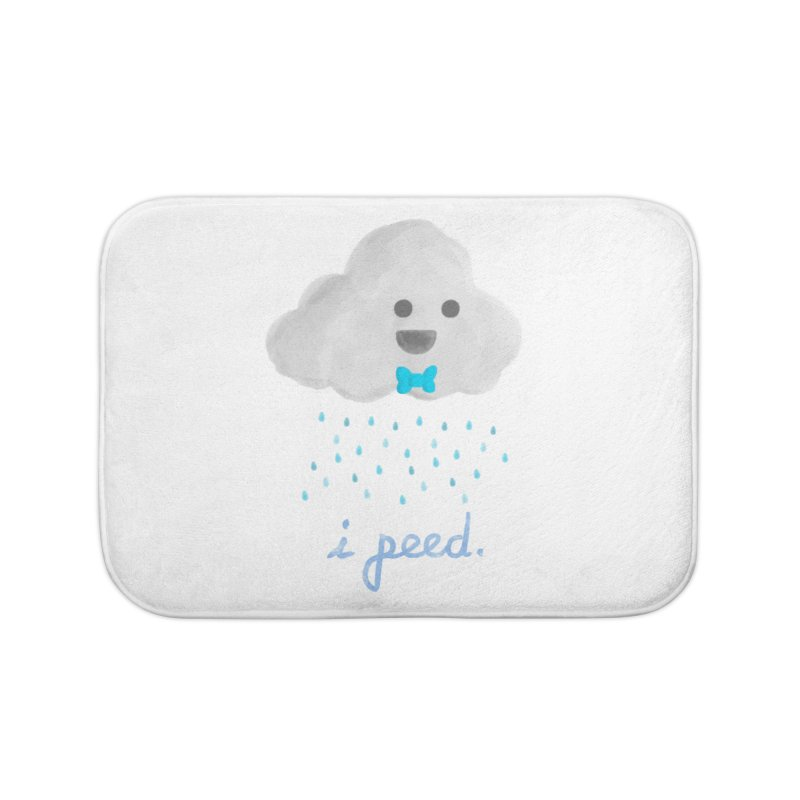 Uh Oh Home Bath Mat by Yargyle's Artist Shop