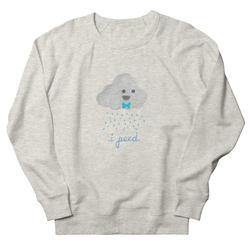 Uh Oh Men's French Terry Sweatshirt by Yargyle's Artist Shop