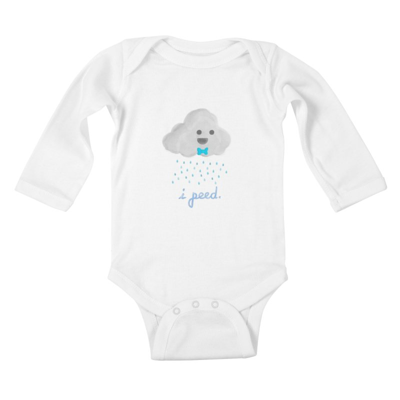 Uh Oh Kids Baby Longsleeve Bodysuit by Yargyle's Artist Shop