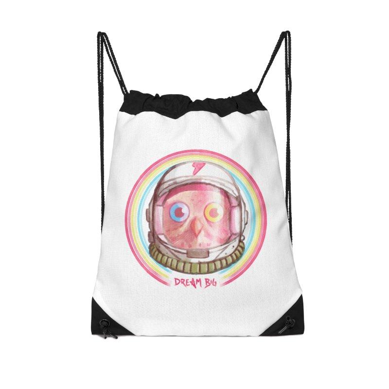Dream Big Accessories Drawstring Bag Bag by Yargyle's Artist Shop