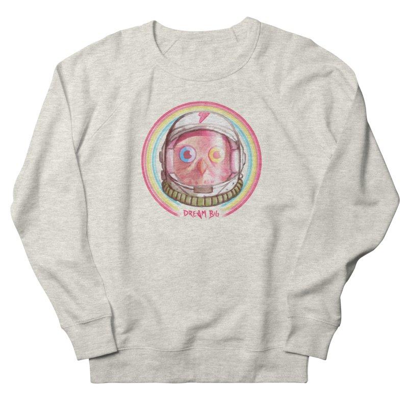 Dream Big Men's French Terry Sweatshirt by Yargyle's Artist Shop