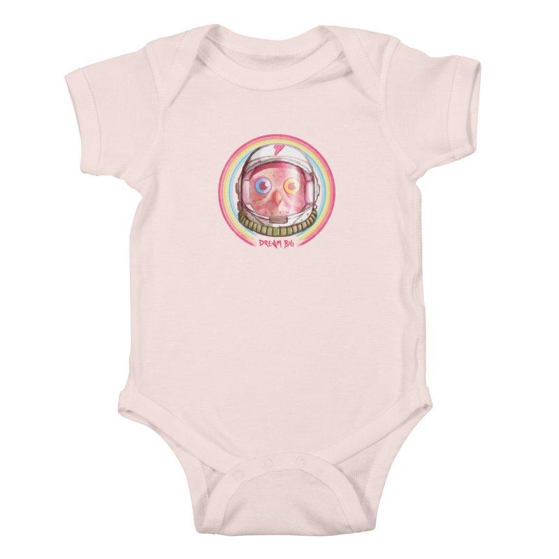 Dream Big Kids Baby Bodysuit by Yargyle's Artist Shop