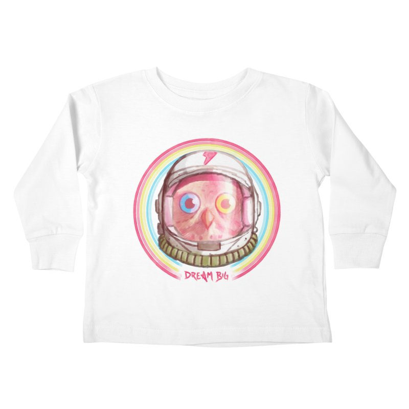 Dream Big Kids Toddler Longsleeve T-Shirt by Yargyle's Artist Shop