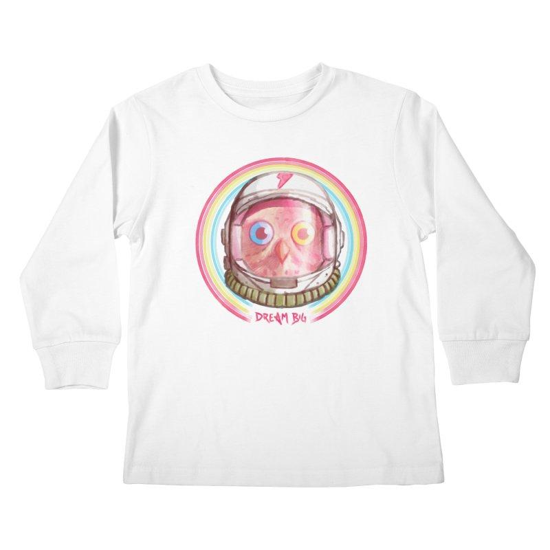 Dream Big Kids Longsleeve T-Shirt by Yargyle's Artist Shop