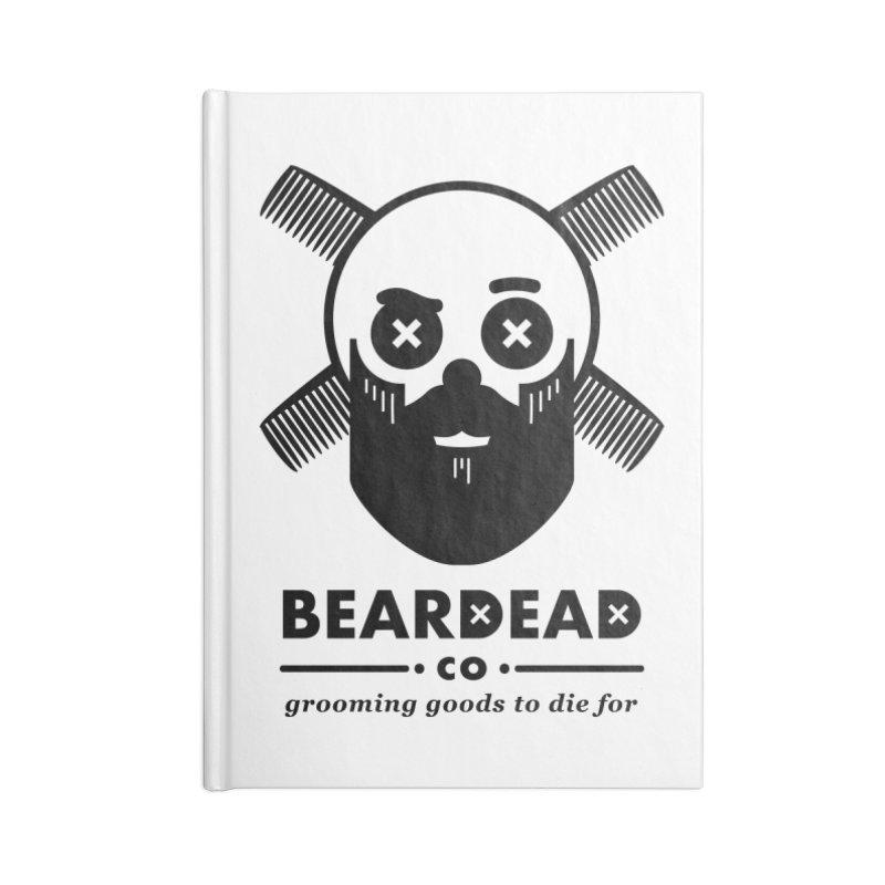 Beardead Accessories Lined Journal Notebook by Yargyle's Artist Shop