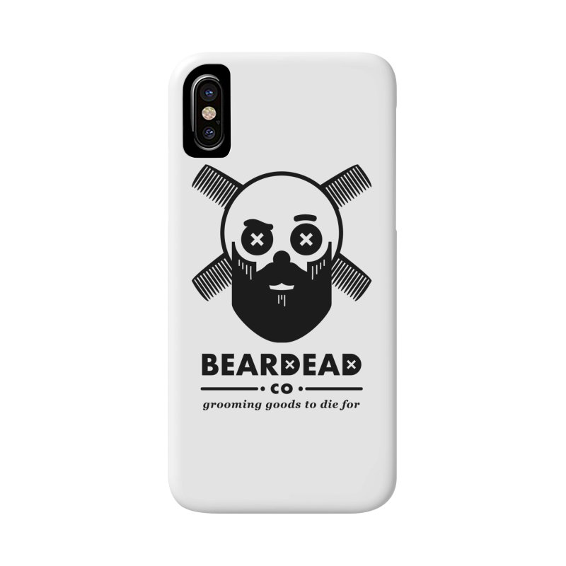 Beardead Accessories Phone Case by Yargyle's Artist Shop