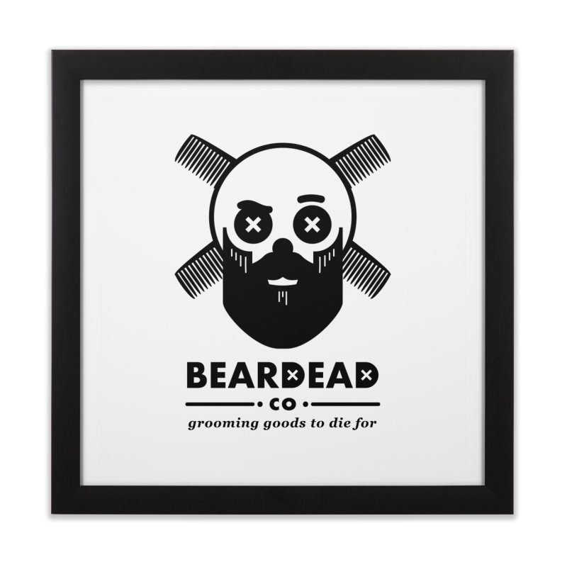 Beardead Home Framed Fine Art Print by Yargyle's Artist Shop