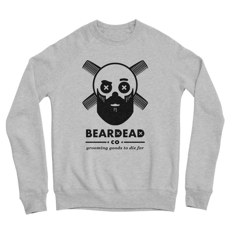 Beardead Men's Sponge Fleece Sweatshirt by Yargyle's Artist Shop
