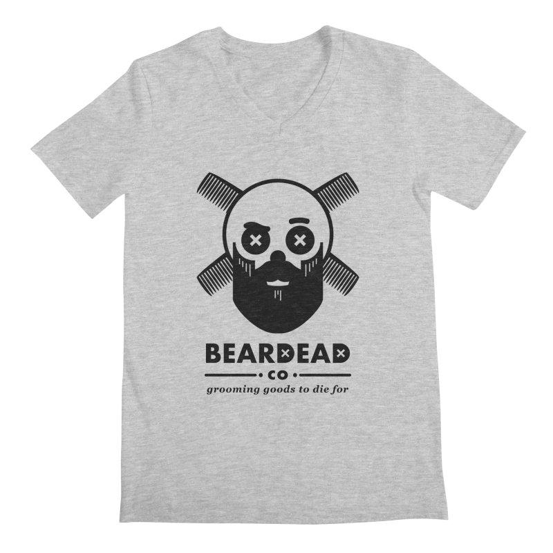 Beardead Men's V-Neck by Yargyle's Artist Shop